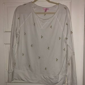 GUC sz large Lilly Pulitzer pullover